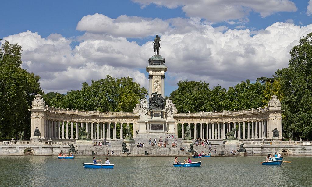 Parque del Retiro, Madrid destinos vacaciones España