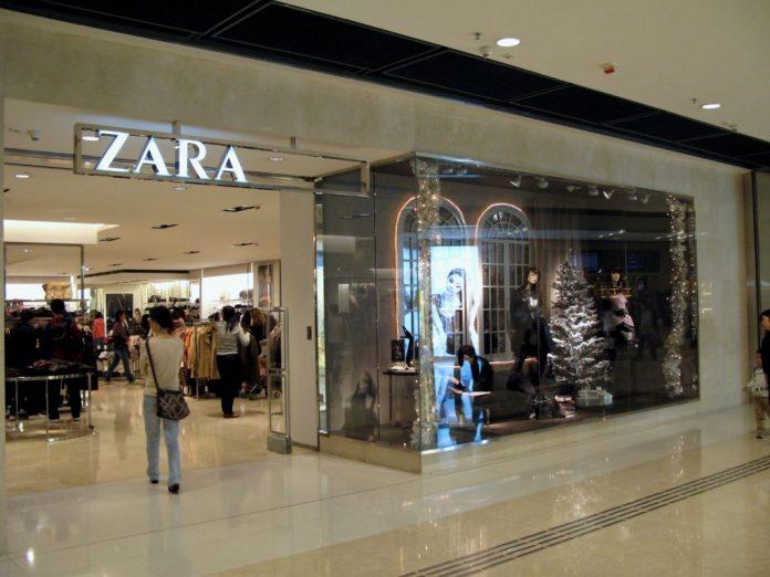 Zara, tecnología
