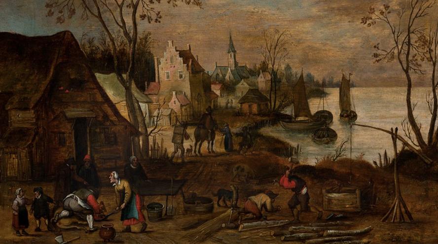 Ansorena anima su próxima subasta con Brueghel, Zuloaga y Saura