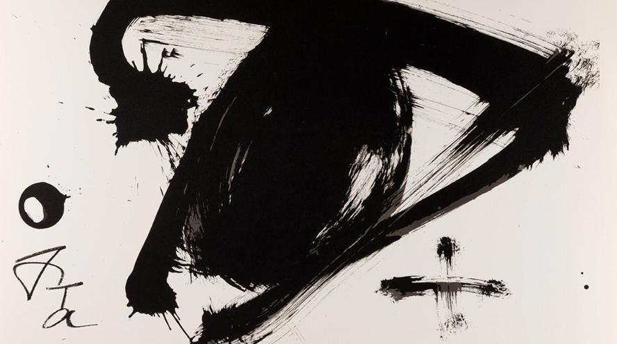 Chillida, Tàpies y sus litografías se dan cita en la subasta de Setdart