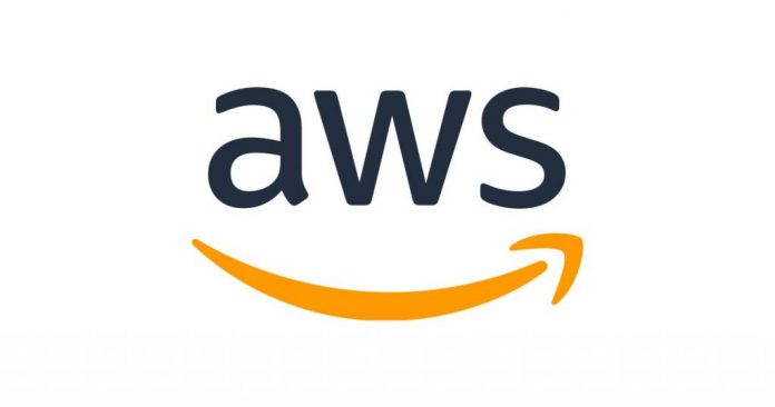 AWS logo, Amazon cloud computing