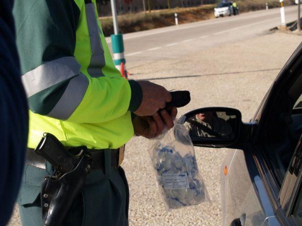 control de tráfico, Guardia Civil