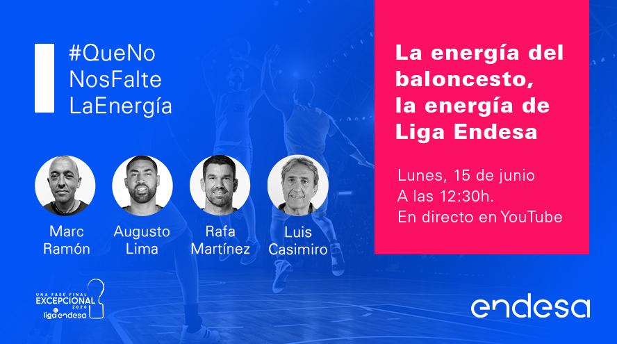 La energía del baloncesto, la energía de Liga Endesa