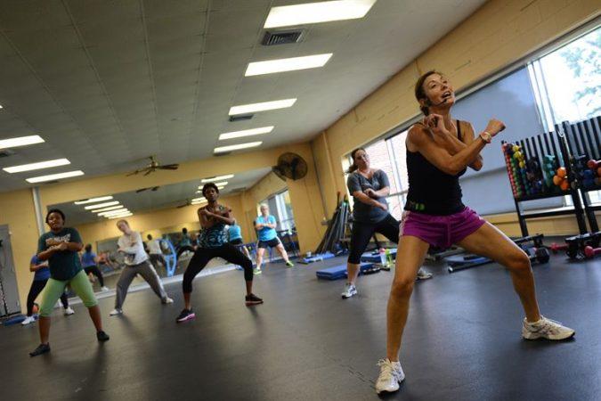 ejercicios para liberar endofrinas: aerobic