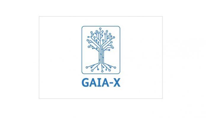 Gaia-x, nube europea: logo