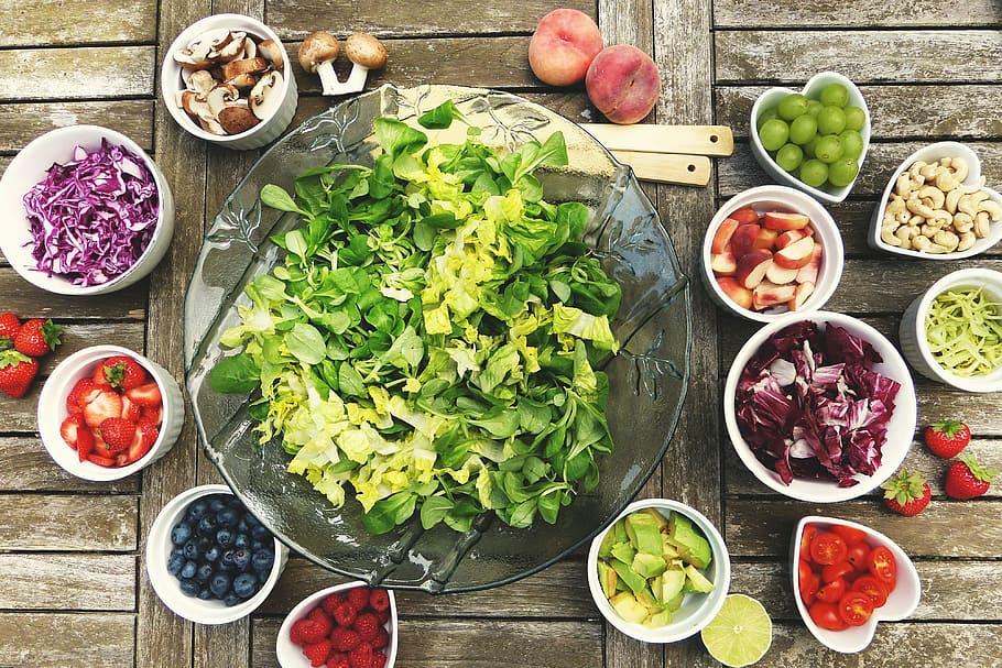 Ideas de ensaladas frescas para los días de más calor