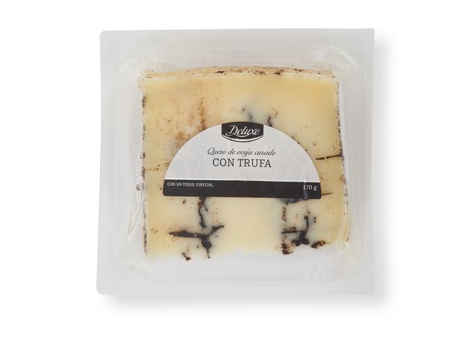 quesos con trufa Mercadona, Lidl