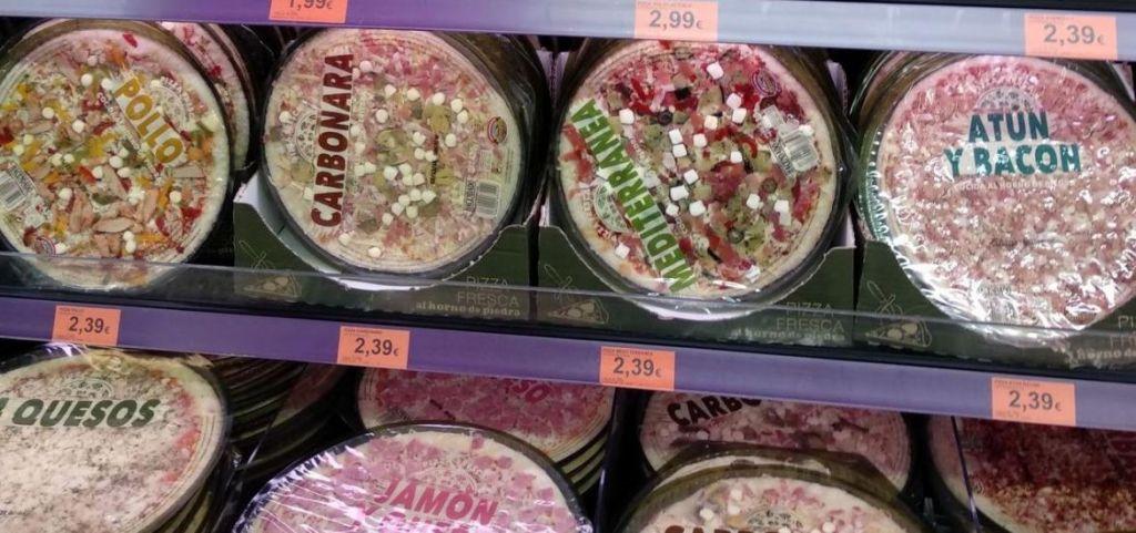 pizzas Mercadona