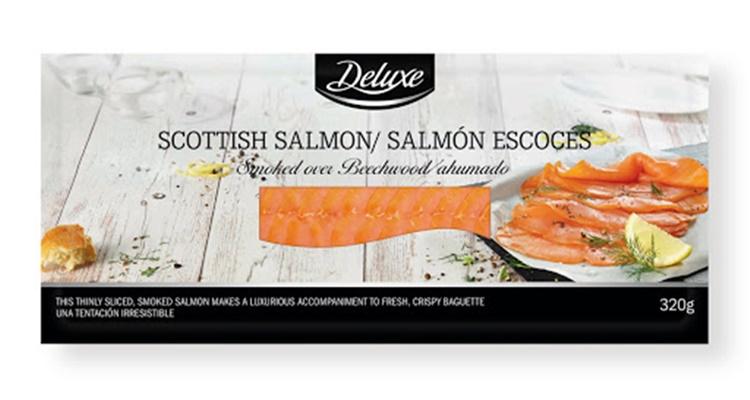 Salmón ahumado escocés Lidl