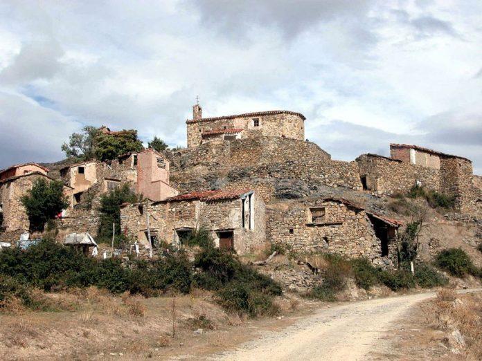 San Vicente de Munilla, pueblos abandonados, fantasma España