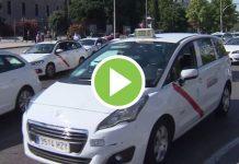 Taxi en huelga