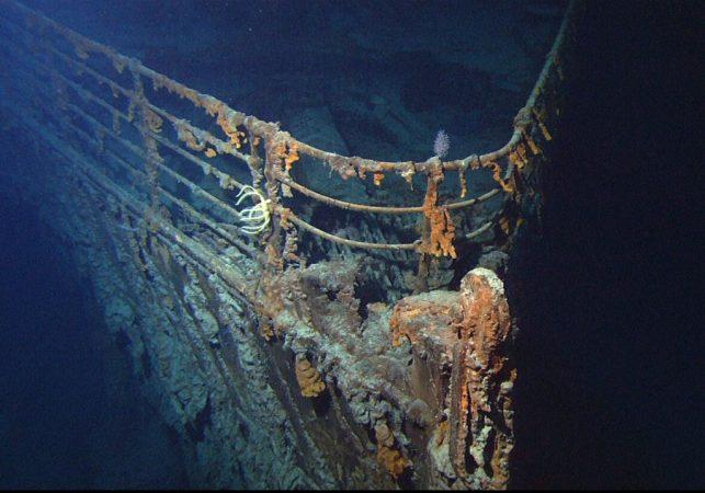 Tesoros del Titanic