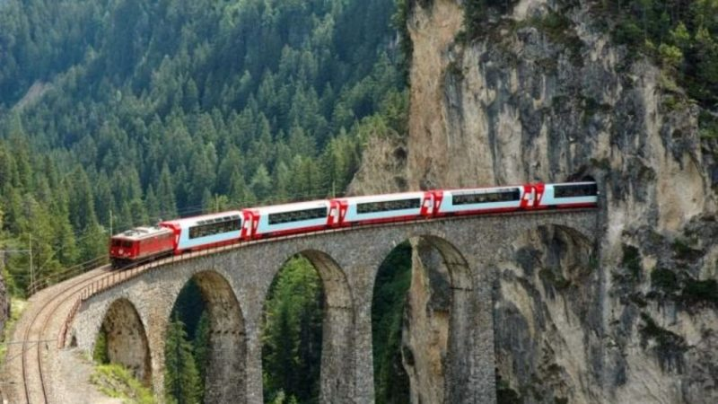 rutas tren alpes suizos