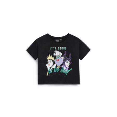 Camiseta corta con villanas de Disney en Primark, Zara, Mango y Bershka
