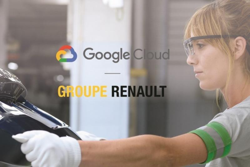 Renault y Google Cloud se alían para acelerar la industria 4.0
