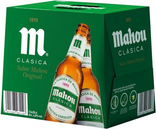 cerveza clasica mahou mercadona