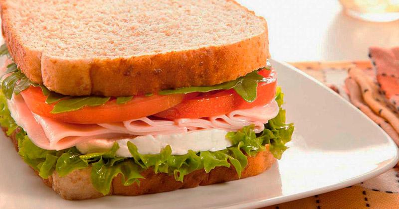 Recetas de vagos: Sándwich de jamón y queso