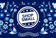 Shop small. American Express