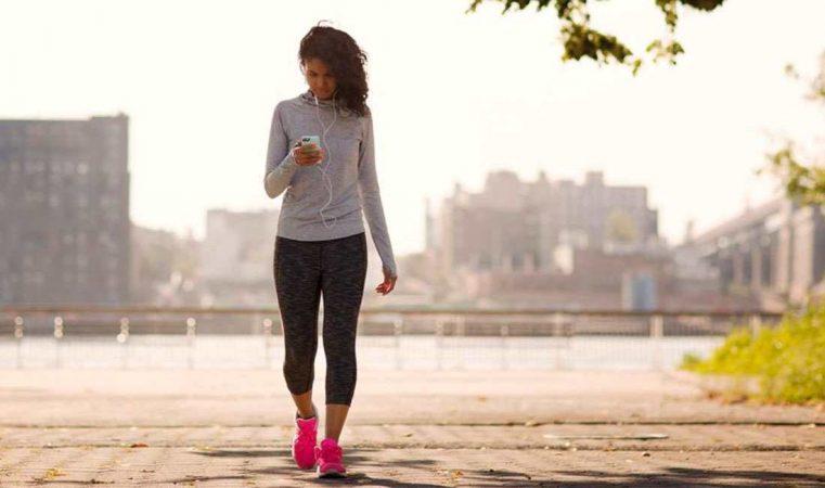 caminar para quemar grasa