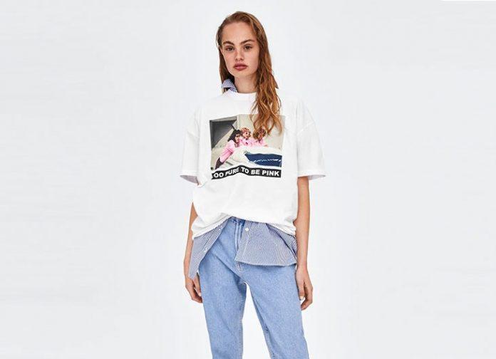 Camisetas nuevas y preciosas de Zara que están de moda