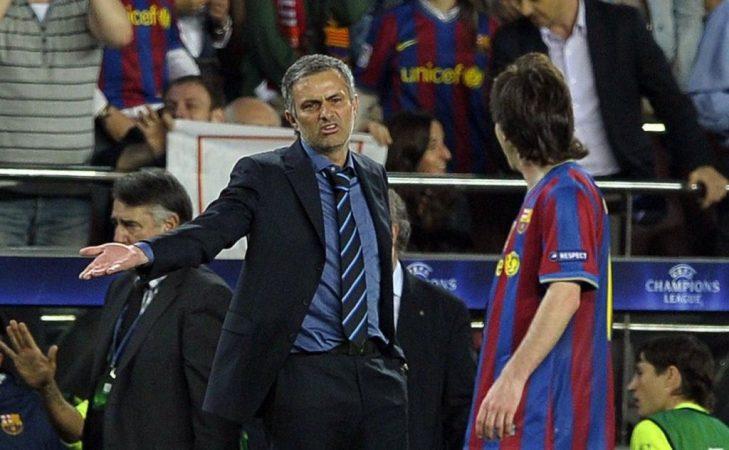 Mourinho aterriza en Chamartín Real Madrid