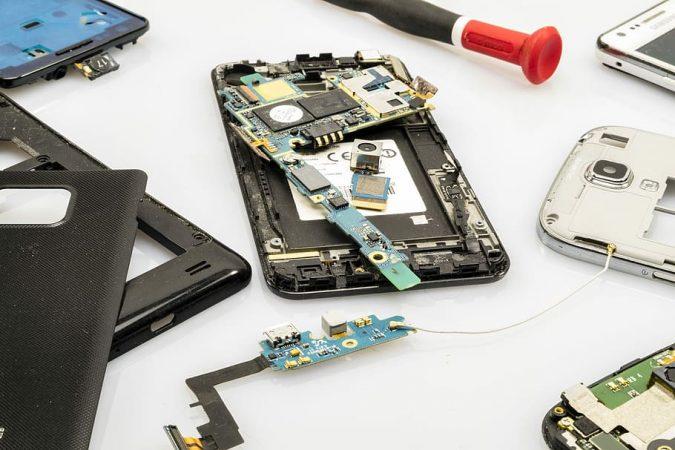 móvil barato, placa base - hardware