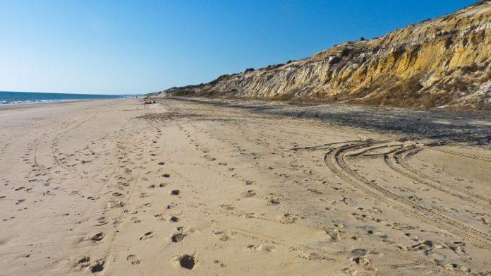 Playa Cuesta Maleni, Huelva - playas largas España