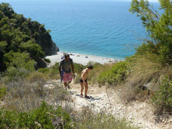 playas andalucia cala del pino