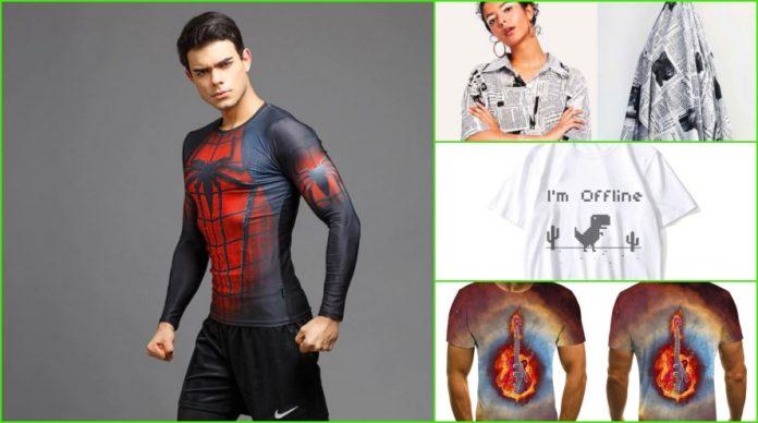 Aliexpress camisetas molonas para que nadie repita tus looks