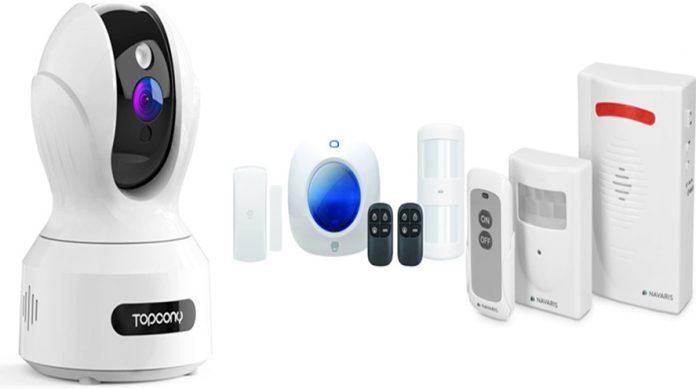 Amazon: videocámaras, alarmas y otros para evitar robos