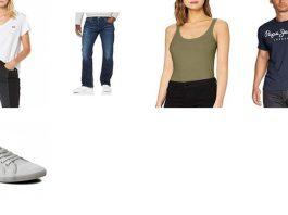 Amazon: Levi's, Vero Moda, Pepe Jeans, agosto
