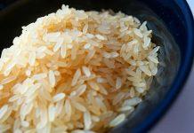 arroz, dieta astringente