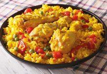 arroz-`pollo