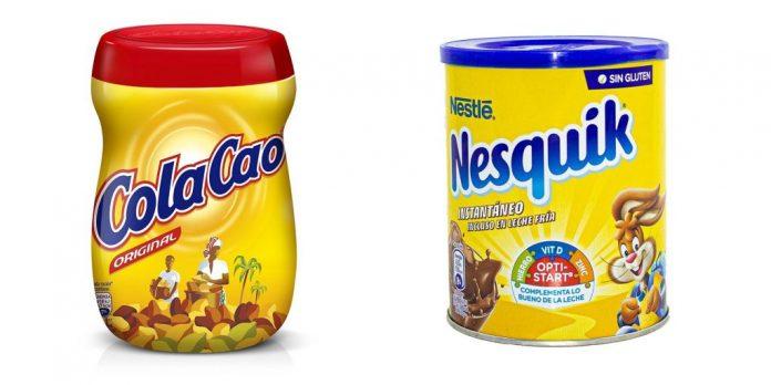 Nesquik vs Cola-Cao, Mercadona, Lidl, Carrefour