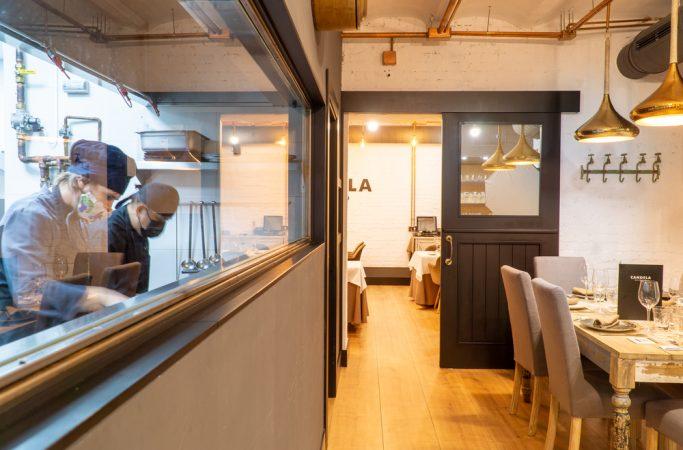 Vistas a la cocina Candela Madrid