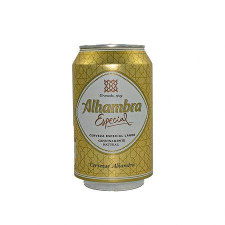 ¿Es aceptable la cerveza Alhambra?