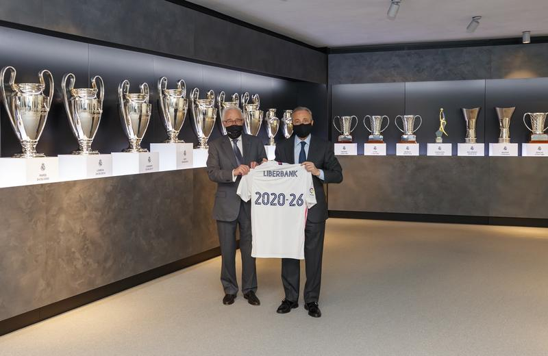 Liberbank, banco oficial del Real Madrid hasta 2026