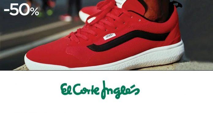 lobo Aprendiz Planificado  ✅ El Corte Inglés: zapatillas Vans a mitad de precio por tiempo limitado