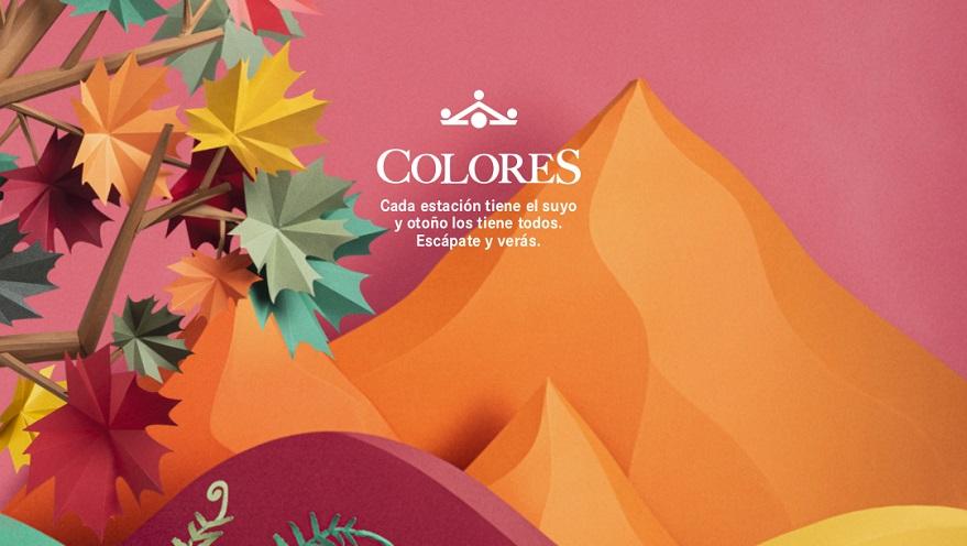 """Paradores lanza """"Colores"""" su atractiva campaña de promociones para el otoño"""