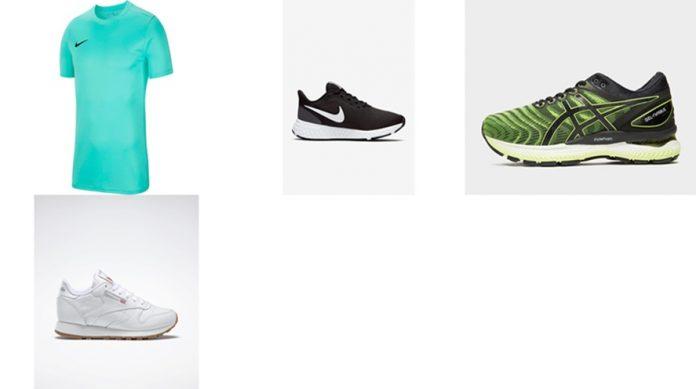 Amazon: Nike, Asics, Reebok, ofertas septiembre