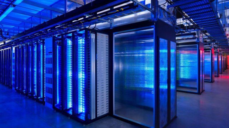 Google Telefonica, centro de datos, granja servidores