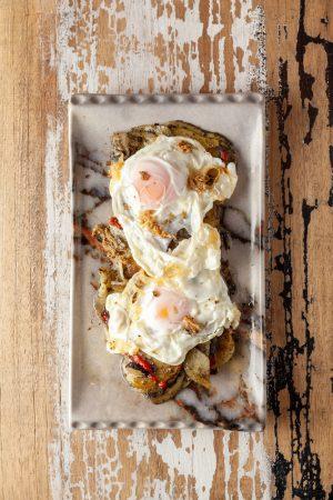 huevo trufado de Candela Madrid