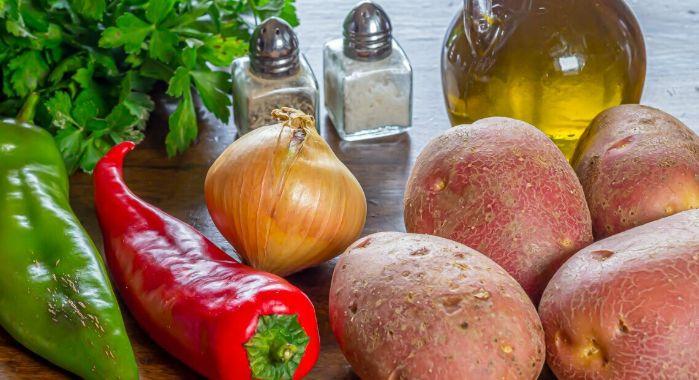 patatas a lo pobre ingredientes