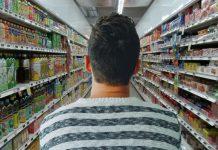 supermercado, etiquetas: Mercadona, Eroski