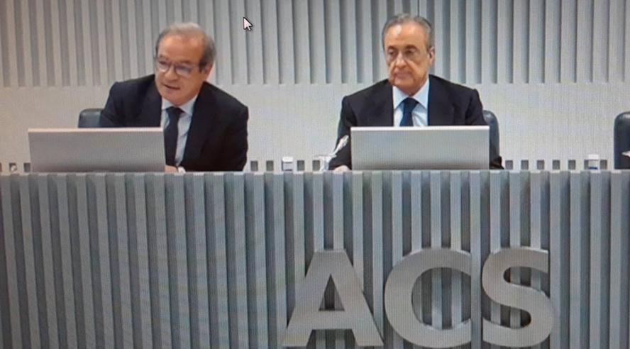 Las cartas de Florentino Pérez para relevar a Fernández Verdes como CEO de ACS
