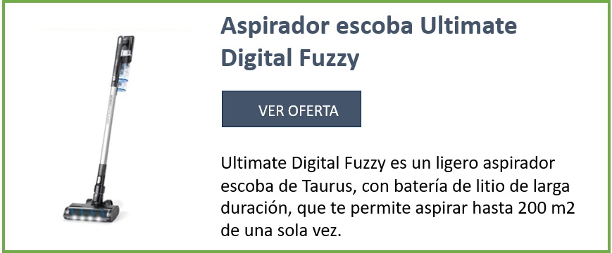 aspirador escoba Ultimate Digital Fuzzy. ver oferta
