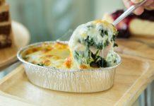 receta espinacas con bechamel saludable