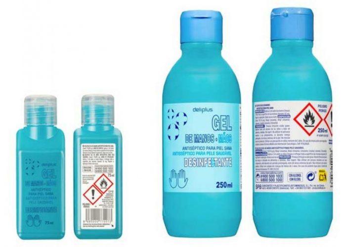 Mercadona, gel desinfectante