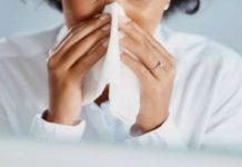 gripe, polvo