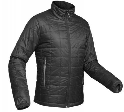 chaqueta abrigo acolchado trekking senderismo de Decathlon